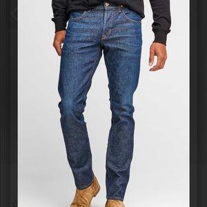 Men's Hudson Blake Slim Straight Jeans 34 Dark